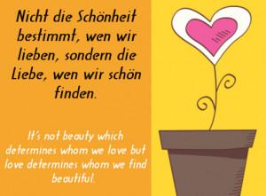 Popular German Sayings about Love