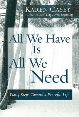 Daily steps toward a peaceful life. Might be a great book to read