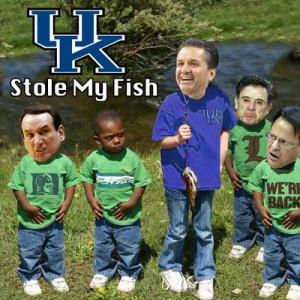 Kentucky Stole My Fish: 10 Best Worst Opposing Fans of the Week