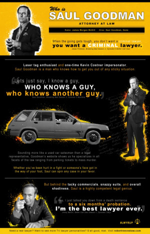 ... TV Lawyer Personality are You? (Plus the Best Saul Goodman Quotes