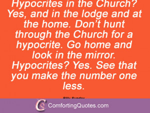 Quotes About Hypocrites In Church 15 quotes and sayings from
