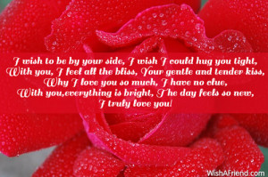 love you with all my heart and soul poems