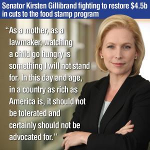 Kirsten Gillibrand won election to Senate Seat she had been