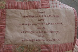 Quotes And Sayings For Quilt Labels