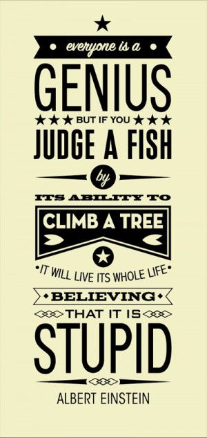 Einstein Quote Poster