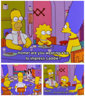 Are we still doing Simpsons quotes?