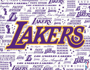 don't know anything else but the Lakers. This has certainly been ...