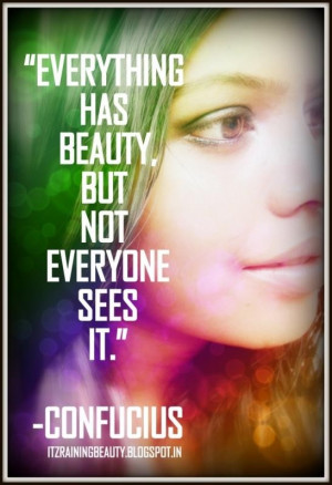 Smile and the makeup beauty quotes & sayings