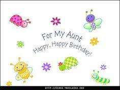 happy birthdays birthday aunt happi birthday
