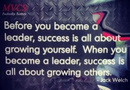 Before you become a leader...
