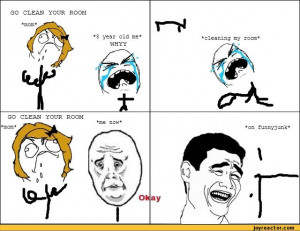 Funny Clean Your Room