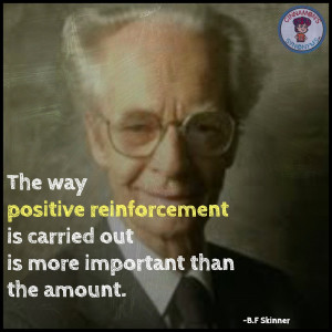... implement the system is a crucial element because as b f skinner said