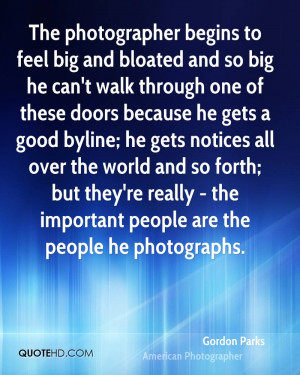 Gordon Parks Photography Quotes
