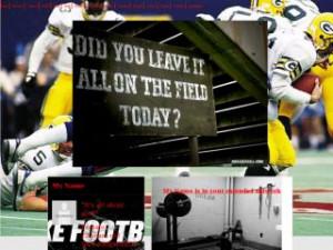 Nike Football Sayings Layouts