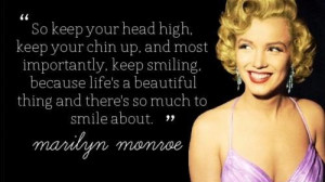 GET INSPIRED 2: Marilyn Monroe favourite quotes