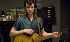 Aaron Johnson is John Lennon in Nowhere Boy.