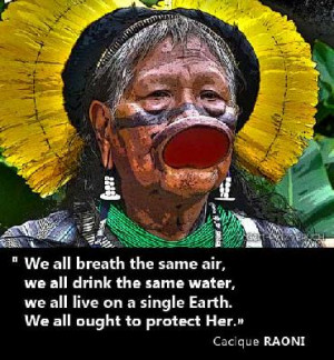 SAY YES TO THE AMAZON, NO TO BELO MONTE. Join the fight on the Amazon ...