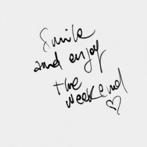 love it enjoy the weekend