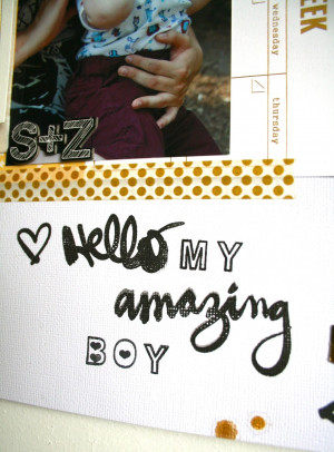 Love My Little Boy Quotes Of me tickling my son when