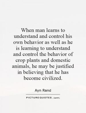 Controlling Behavior Quotes