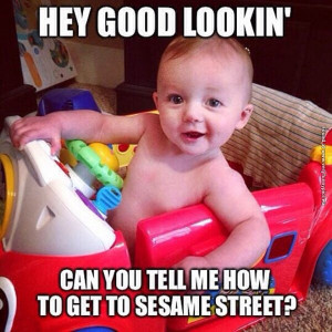 funny pictures going to sesame street