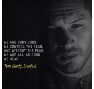 tom hardy, lawless