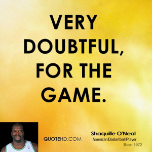 Shaquille O'Neal Quotes