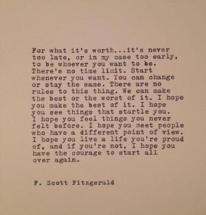 ... Fitzgerald, Fscottfitzgerald, Word, Living, Scott Fitzgerald Quotes