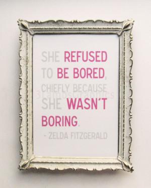 zelda fitzgerald quotes on love