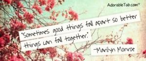 inspiring, quote, marilyn, monroe