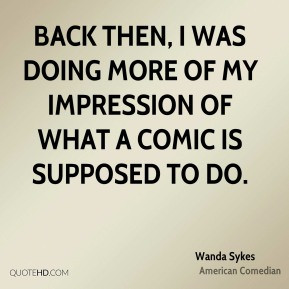 Wanda Sykes Quotes