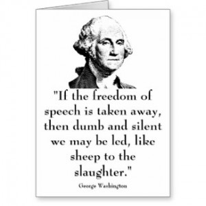 Washington and quote by militarycards