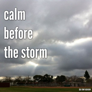 Calm Before the Storm Quotes