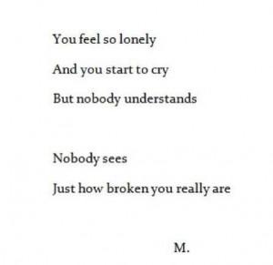 But nobody understands