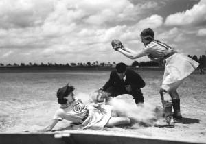 All-American Girls Professional Baseball League Player Marg Callaghan ...