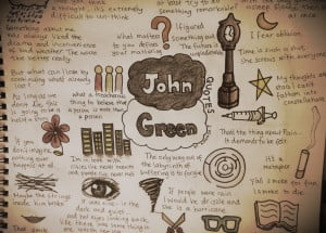 John Green Fandom (quotes page) by amandajay18