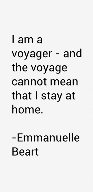 Emmanuelle Beart Quotes & Sayings