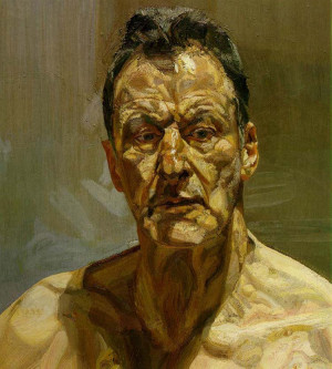 Lucian Freud's portraits at The National portrait Gallery