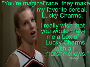 celebritytainment.com – Glee Brittany Quotes