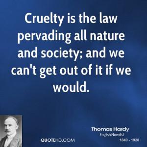 Thomas Hardy Society Quotes