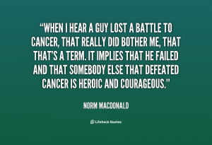 Cancer Lost Battle Quotes