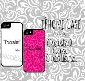 That's What She Said Quote Apple iPhone 4 by CoastalCaseCreations, $26 ...