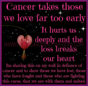 ... of my sister-in-law, Dr. Susan Davis- Roberson(ovarian cancer victim