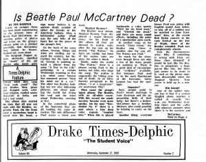 "How the ""Paul McCartney is Dead"" Hoax Started at an American ..."