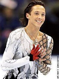 Johnny Weir - Loki the ice skater version. He's gay and he's adorable ...
