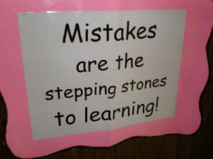That we all make mistakes is a fact of life. To err is human, to ...