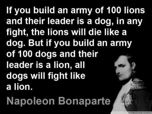 Napoleon Bonaparte quotes. So true.