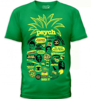 Psych quotes shirt!