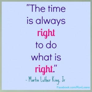 Great #Quote - In honor of Martin Luther King Day.