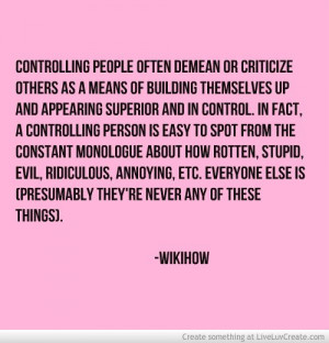 quotes- controlling people- facts -